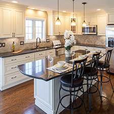 Spacious Kitchen Design - Mt. Vernon, NY